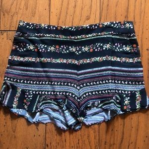 Perfect condition!  size 0 Loft shorts
